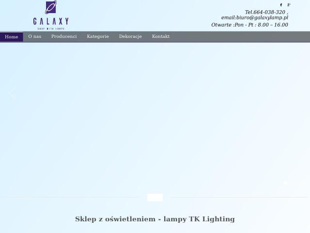 Tk lighting Qualle • https://galaxylamp.pl/