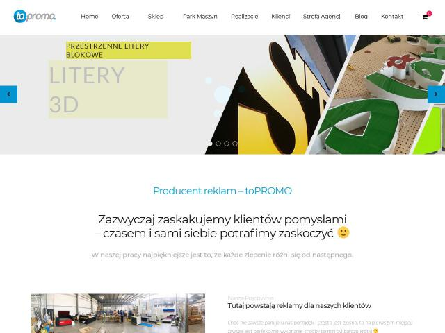 toPROMO Advertising Group - Zabudowy targowe